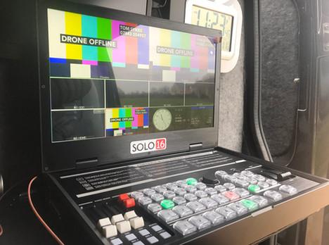 Van Based Vision Mixer  - TV Cameraman