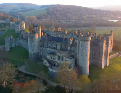 Arundel Castle - Live For BBC Breakfast