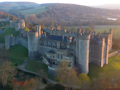 Arundel Castle - Live For BBC Breakfast