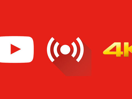 YouTube Allows 4K Live Streaming