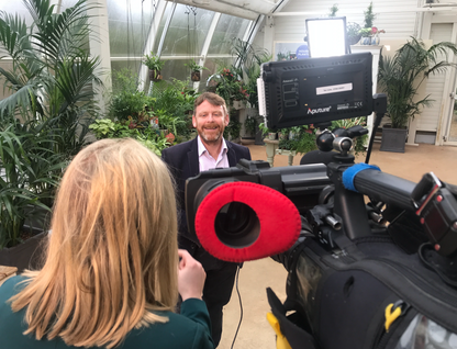 Houseplants Take Over ITV - Surrey Cameraman