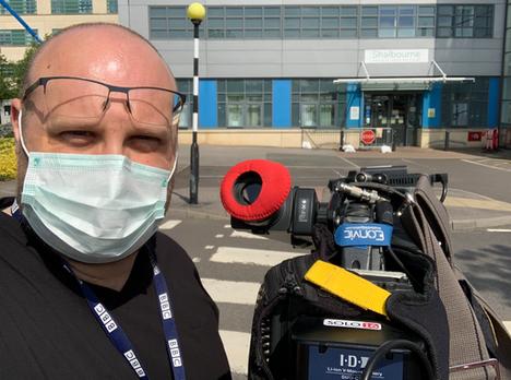 Coronavirus Filming Day 4 - Covid 19 Ward