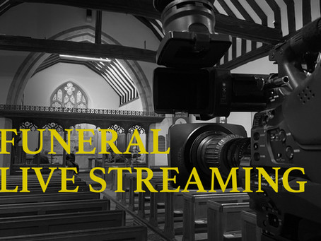 Live Streaming A Funeral - A Little Odd Or The Future?