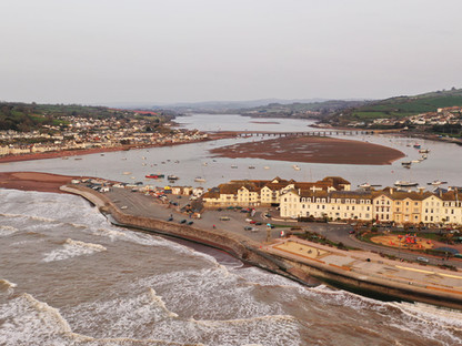 Live Drone In Teignmouth For BBC Breakfast
