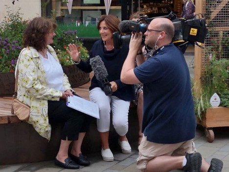 Bath in Bloom - RHS Judges Are In Town - Cameraman Bath