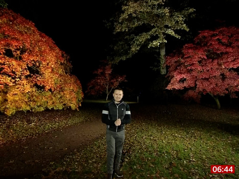 BBC Breakfast Weather From Westonbirt, The National Arboretum