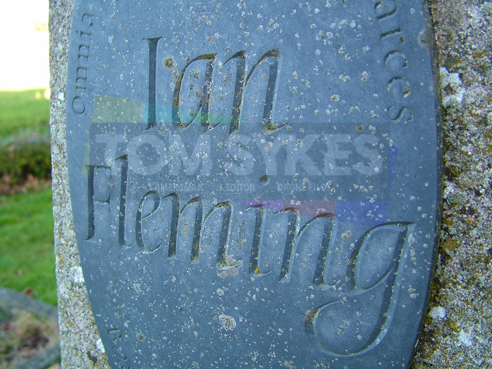 Sevenhampton Ian Fleming Grave