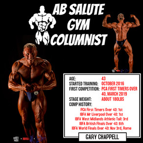 Gary Chappell's First Blog Post!