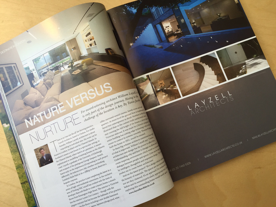Layzell Architects feature in Abode 2