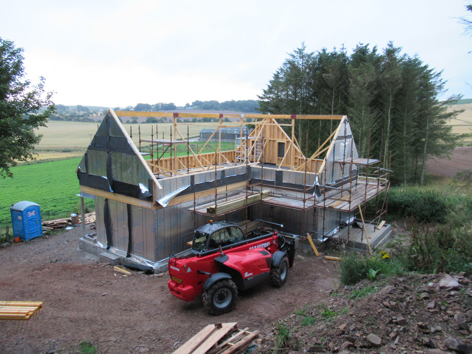 Construction starts in Aberdeenshire