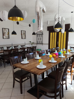 Speisesaal/Gästeraum