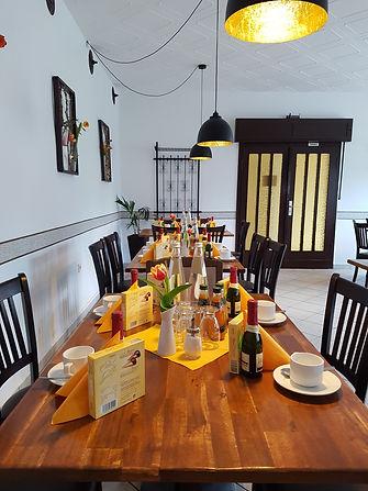 Gastraum für Feier