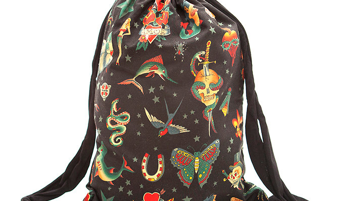 MOCHILA Old school black