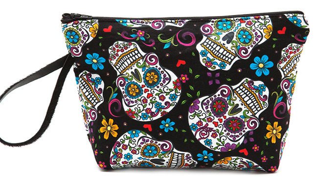 NECESER Sugar skull black