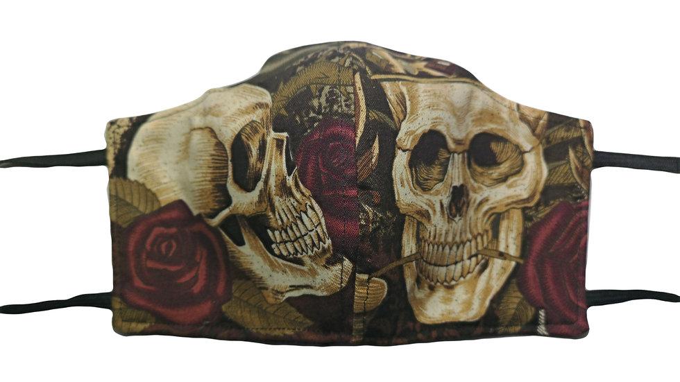 FACEMASK Skull crown