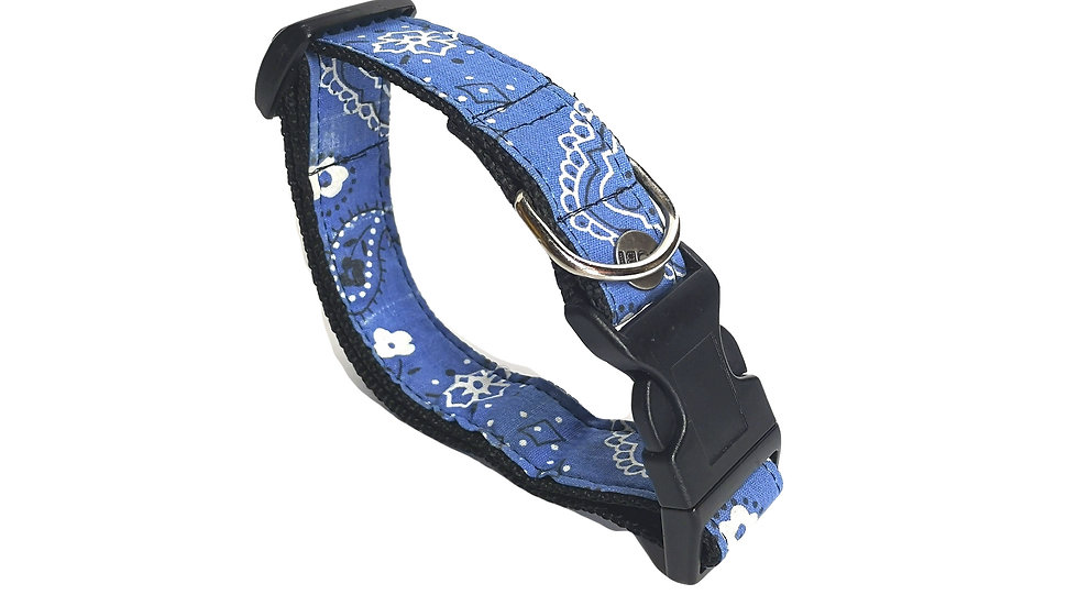 COLLAR Bandana azul