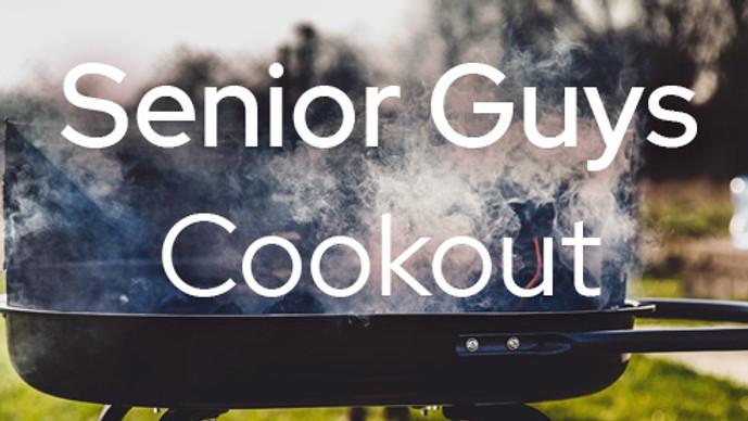 Senior Guys Cookout