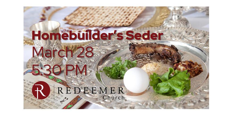 Homebuilder's Seder