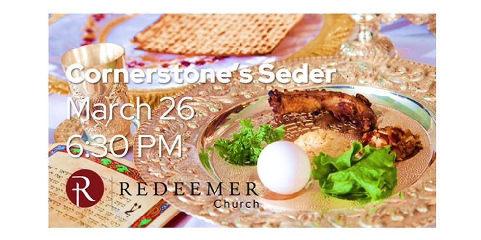 Cornerstone's Seder