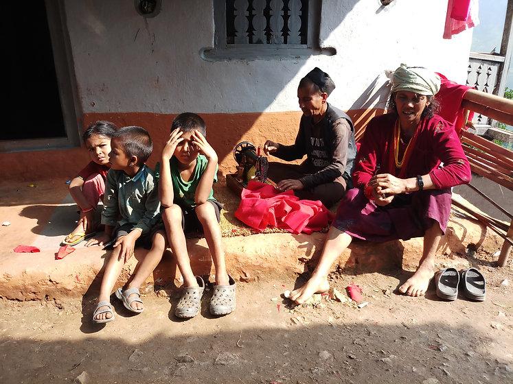 Dalit Family Waiting.jpg