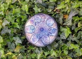 fleur mandala osb drum tank drum