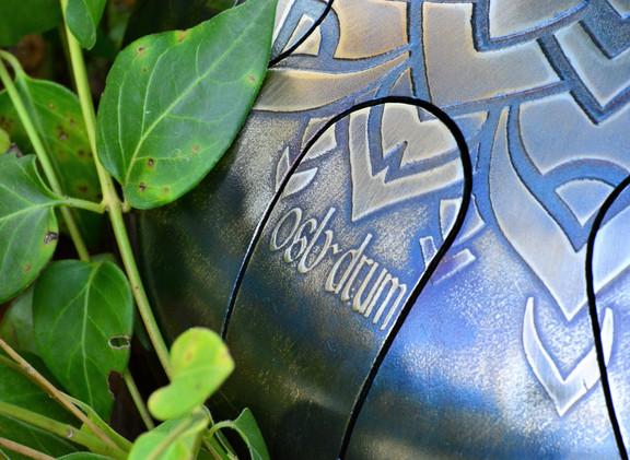 gravure osb drum tankdrum - instrument de musique - hang - handpan - yoga