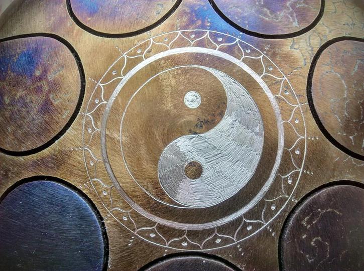 yin yang peronnalisé