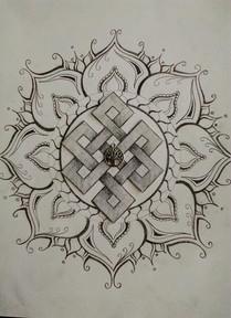 dessin mandala et geometrie
