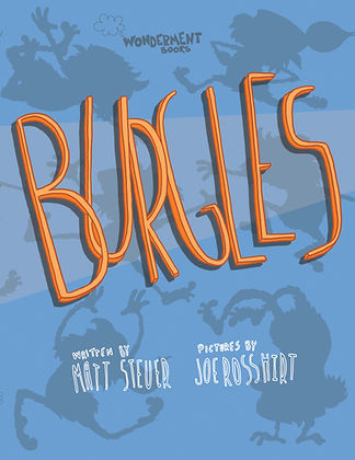 Burgles picture book cover