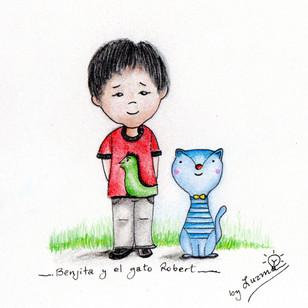 Benjita y el gato Robert