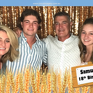 Samuel's 18th | Photo Booth