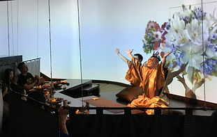 Chefs perform a welcome ceremony in the Anthologia restaurant in Shanghai (photo by James Farrer)