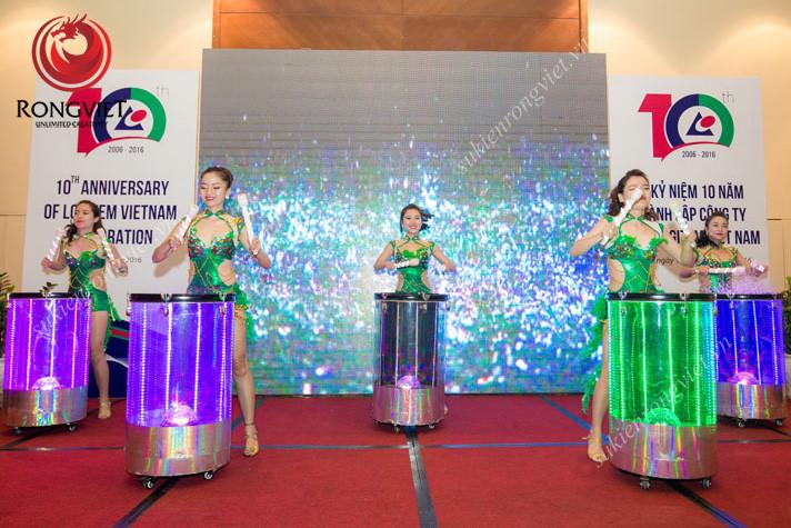Nhóm nhảy giúp không khí sự kiện trở nên sôi động - Công ty sự kiện Rồng Việt
