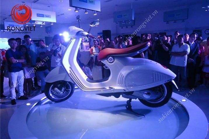 Lễ ra mắt vespa 946 tại showroom Piaggio Xuân Cầu - Công ty sự kiện Rồng Việt