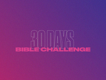 30 DAYS Bible Challenge
