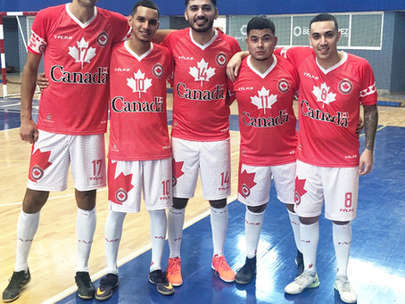 Team Canada qualifies for Futsal World Cup 2019