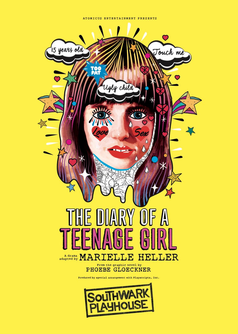 The Diary Of A Teenage Girl (Southwark playhouse, 2017)