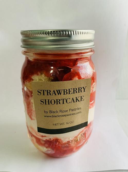 Strawberry Shortcake Cake Jar
