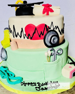 Looks like the Doctors has ordered cake!