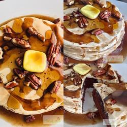 Cake is art & breakfast!! ._._