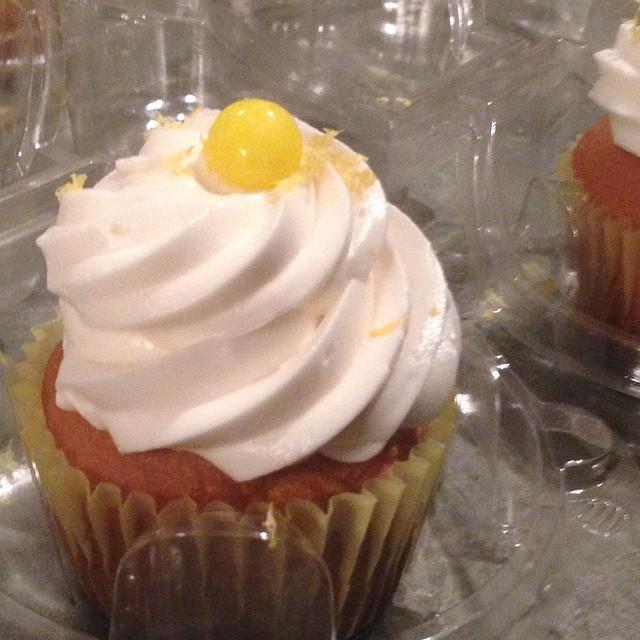 Wanna try our Lemon Burst Cupcake_ _Lemo