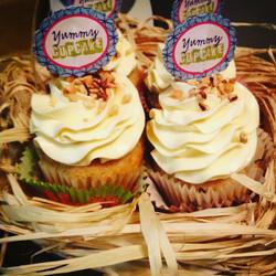 Butter Pecan Cupcakes