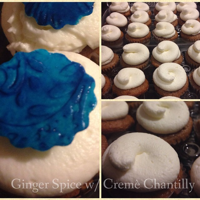 Ginger Spiced w Cremè Chantilly