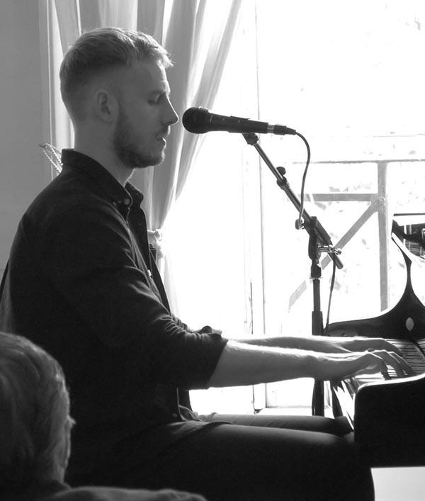 Finn Anderson on Piano