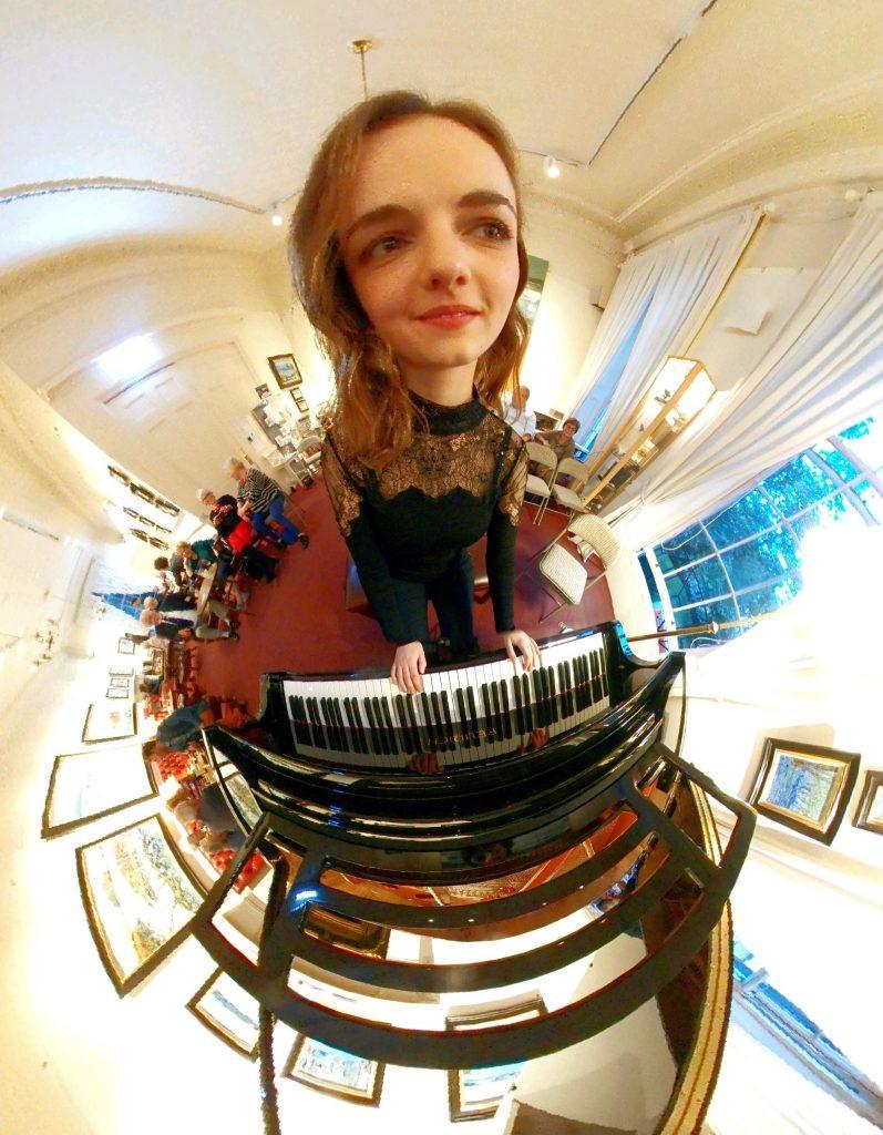 Mini Planet at The Scottish Arts Club, Edinburgh 2017