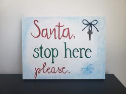 Santa, Stop Here Please (2018)