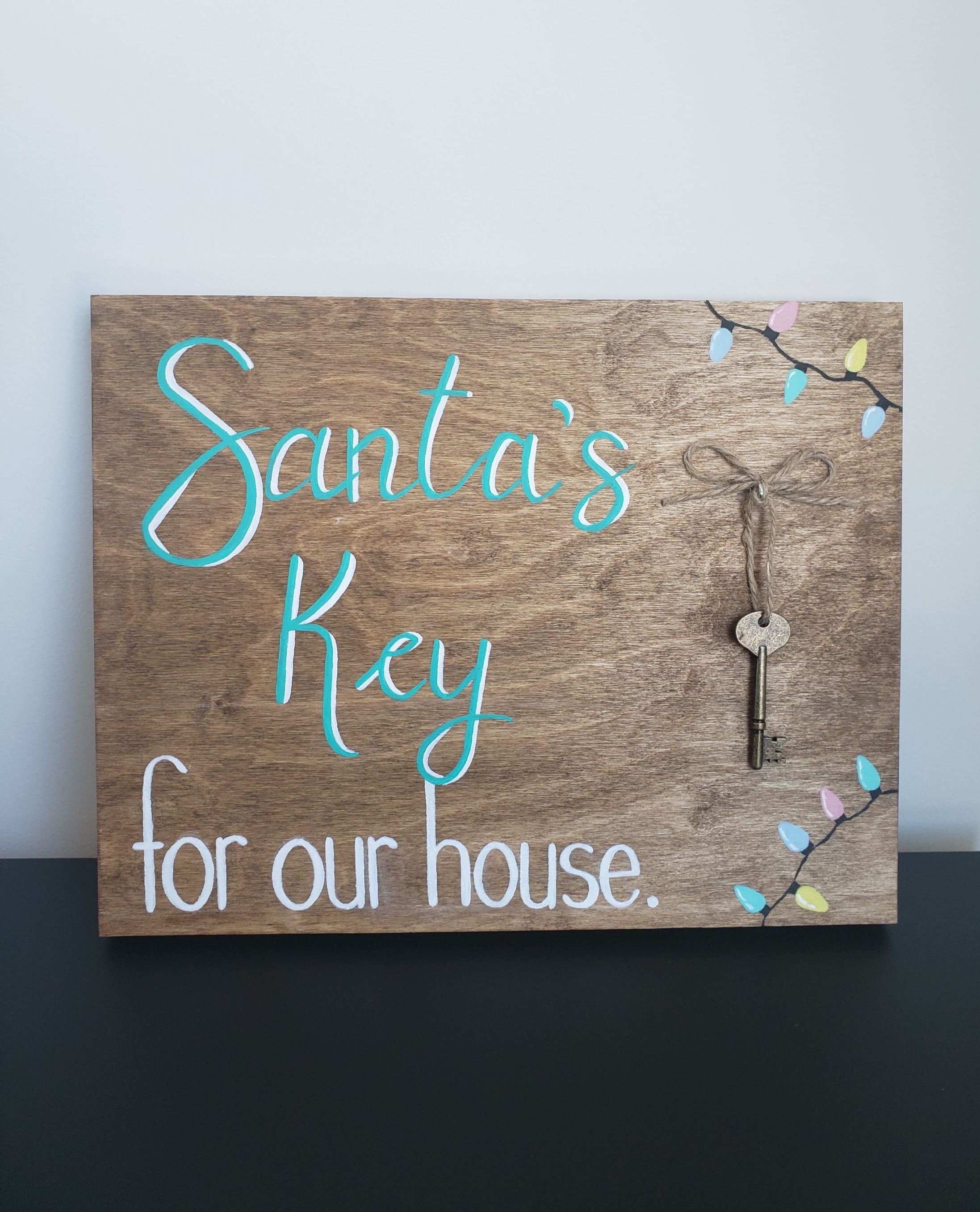 Santa's Key for our House (2018)