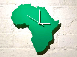 No hurry in Africa. No time to waste.