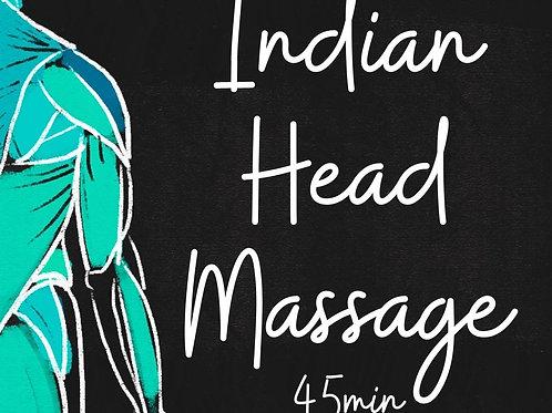 Indian Head Massage 45min