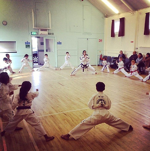 Sidhu's Taekwon Do Academy in Redbourn Village Hall